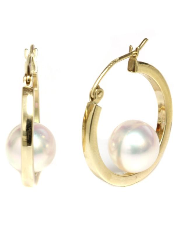 Boucles d'oreilles Akoya Ho Moea Perles - 1