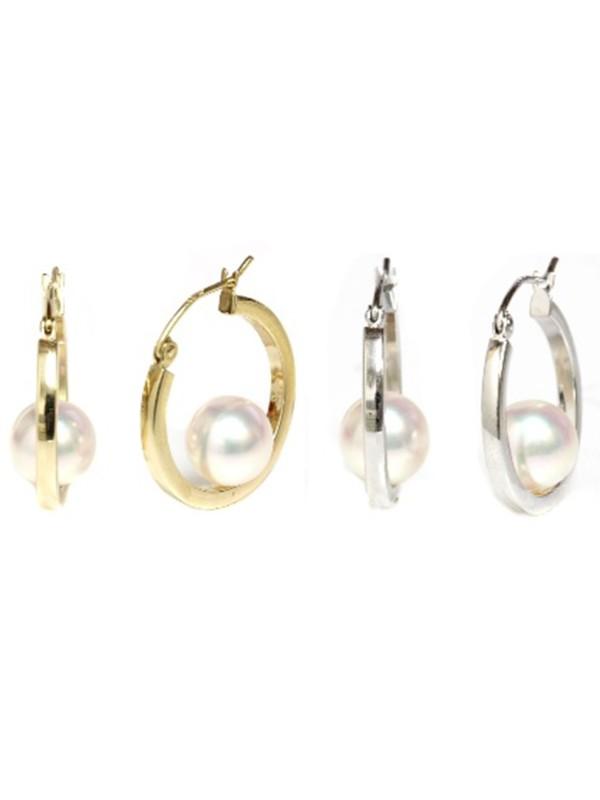 Boucles d'oreilles Akoya Ho Moea Perles - 4