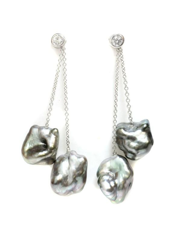 Boucles d'oreilles Keshi Mylla Moea Perles - 1
