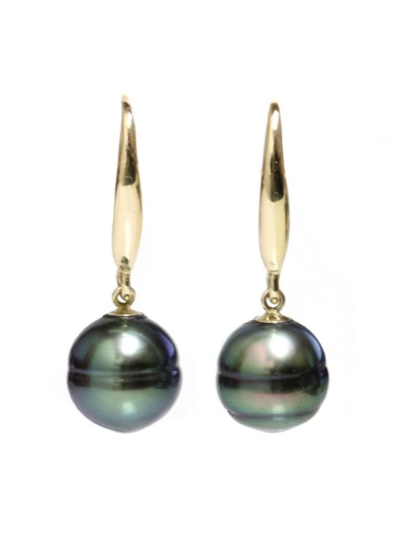 Boucles d'oreilles Elemoea Moea Perles - 1