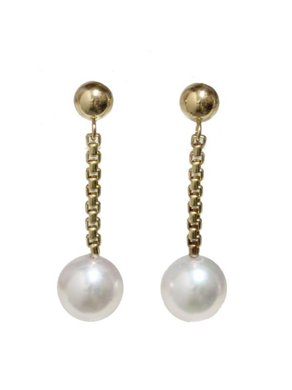 Boucles d'oreilles Akoya Hou Moea Perles - 2