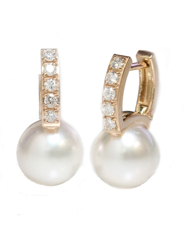 Boucles d'oreilles Reve perle Akoya Moea Perles - 3