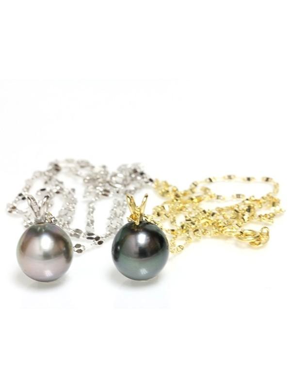 Pendentif en or Veta perle de Tahiti Moea Perles - 1