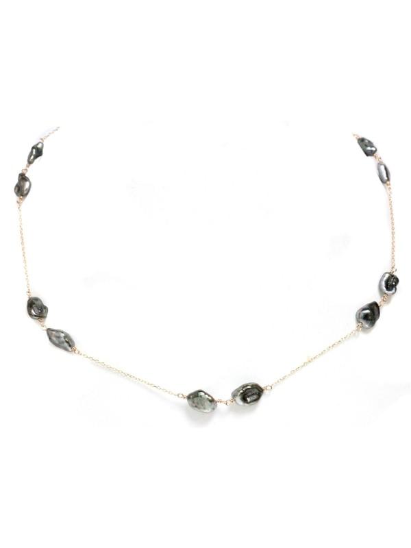 Collier Miua keshi perles de tahiti Moea Perles - 3