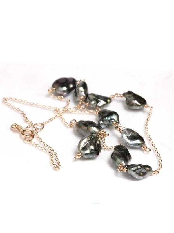 Collier Miua keshi perles de tahiti Moea Perles - 2