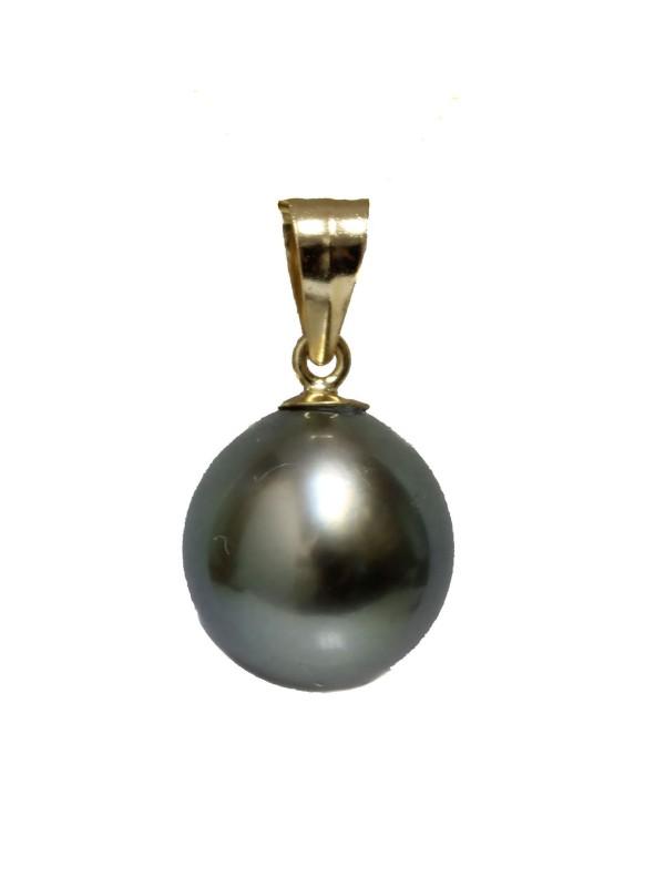 Pendentif en or Raiana perle de Tahiti Moea Perles - 1