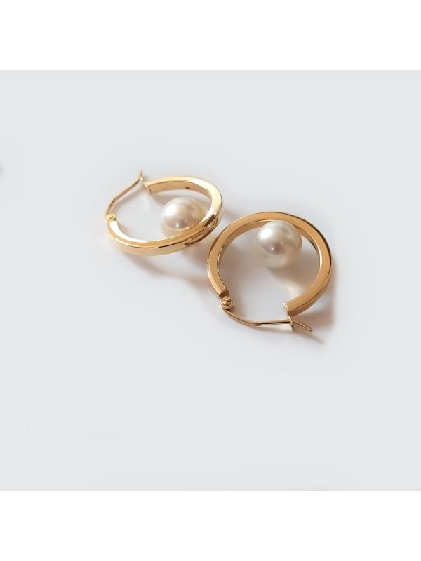 Boucles d'oreilles Akoya Ho Moea Perles - 6