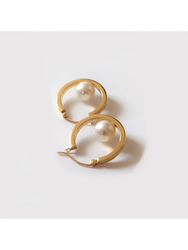 Boucles d'oreilles Akoya Ho Moea Perles - 7