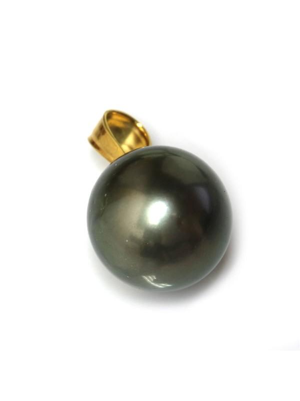 Pendentif en or Tiare perle de Tahiti Moea Perles - 3