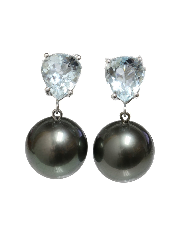 Boucles d'oreilles Rau Moea Perles - 1