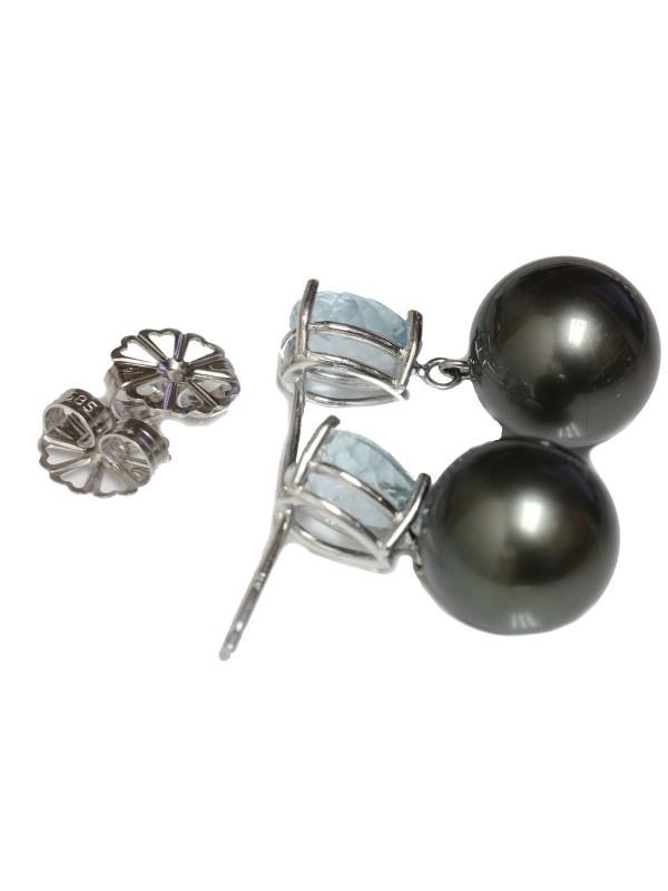 Boucles d'oreilles Rau Moea Perles - 2