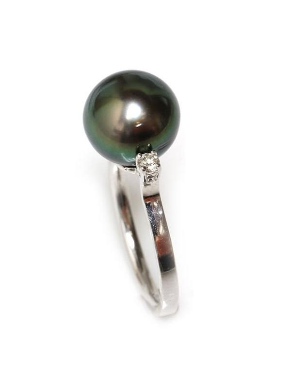Bague Laure perle de tahiti Moea Perles - 1