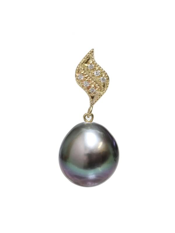 Pendentif en or Vaiani Moea Perles - 1