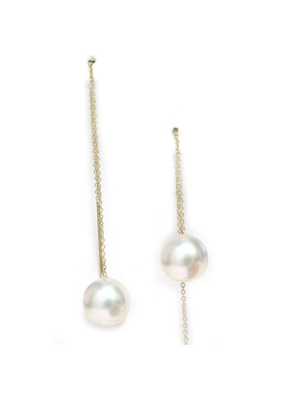 Boucles d'oreilles Avea perles Akoya AAA Moea Perles - 4