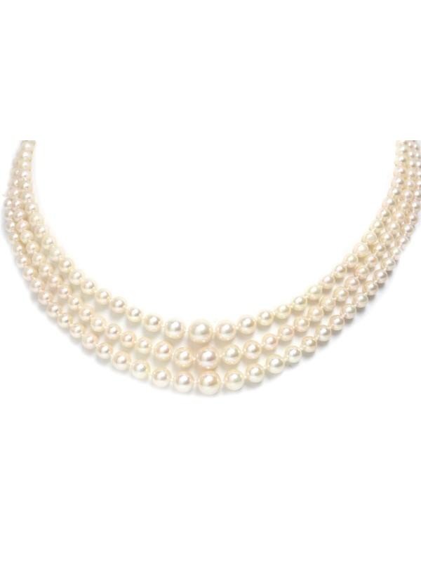 Collier Naia Akoya Moea Perles - 1