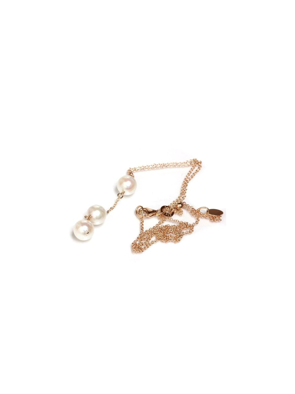 Collier Nui 3 perles japonaises Akoya -4