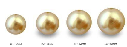 Perles d'australie taille et forme